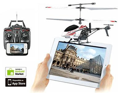 3.5 through remote control aircraft radio receiver WIFI real-time video transmission