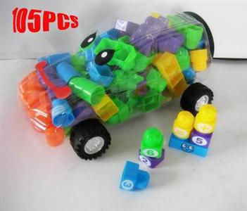 Puzzle Car Blocks