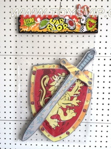 EVA Weapon Series medieval samurai swords, shields suit