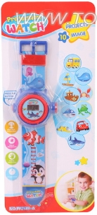 Puzzle multifunction electronic watches projection