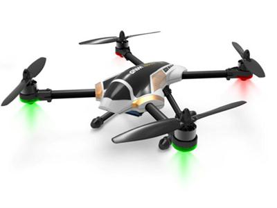 Quadrocopter aircraft