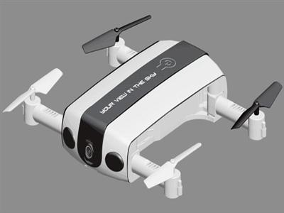 R/C Wifi figure folding four-axis (with camera)
