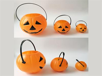 Halloween pumpkin bucket trumpet