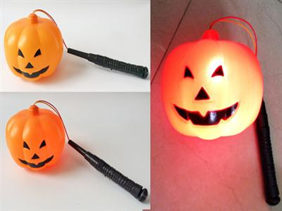 Halloween flash pumpkin hand lantern