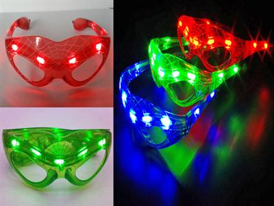 Flash Spider-Man glasses