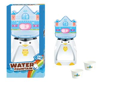Penguin Castle water dispenser