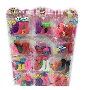 The new 12 bags of 4 pairs of shoes Bobbi plate