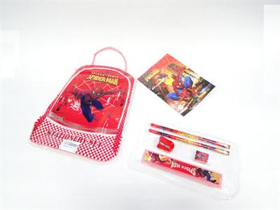 Spiderman bag 8 in 1 Stationery Set