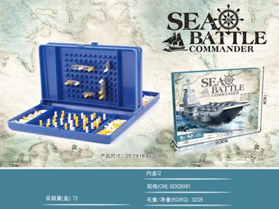 Big box sea battle chess