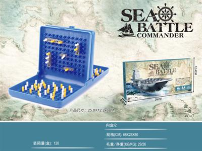 Small box naval chess