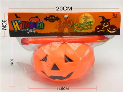 Handle, colorful lights, Halloween pumpkin lights