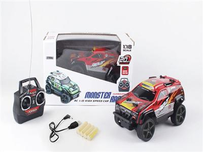 1:18PVC four-way remote control car