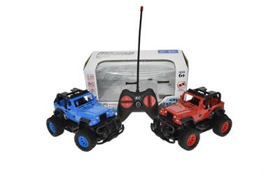 1:22 four-way remote control jeep (without electricity)