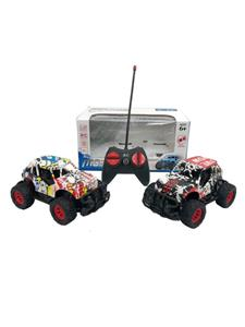 1:22 Four-way remote control graffiti car (without electricity)