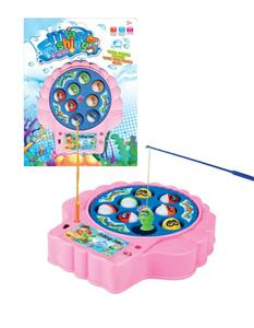 Electric music fishing plate