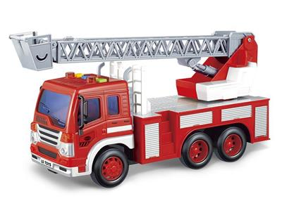 1:16 inertial engineering fire ladder truck (power pack)