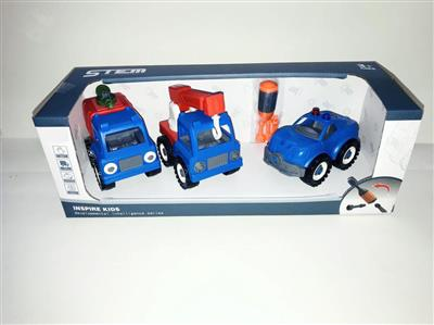 3 pack police disassembly series