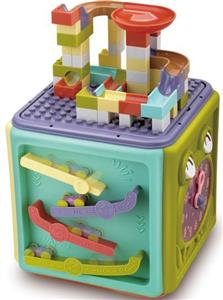 Building block learning house