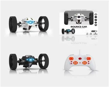2.4G remote control bounce car light + music