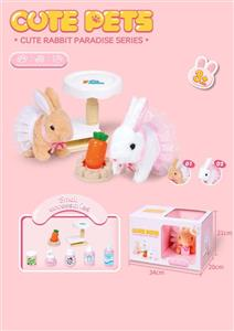 Cute Rabbit Lifting Platform